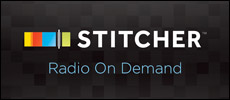 stitcher radio on demand button